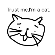 I can draw a cat