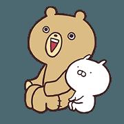 Teddy bear and Usamaru 2