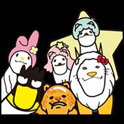 三麗鷗明星×戽斗星球-戽斗進化篇