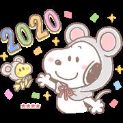 Snoopy 隨你填貼圖(賀年篇)