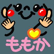 Name Sticker.[momoka]