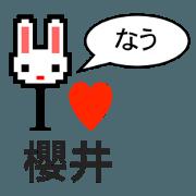 I LOVE SAKURAI