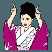 Ayaya (Ayako WAKAO) Sticker Set
