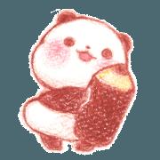Yururin panda ~Colored pencil~