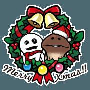 Funghi Christmas & Happy ne...
