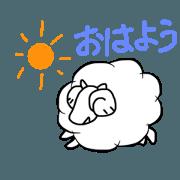 Korokoro sheep's black and white2