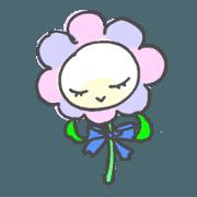 Polite Rounded Flower