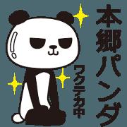 The Hongou panda
