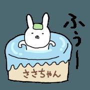 Sasachan rabbit