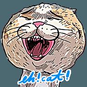 蛋頭的貓插畫貼圖6