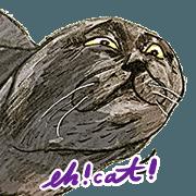 蛋頭的貓插畫貼圖7