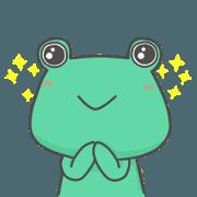 反逆的青蛙小粉圓,呱呱~