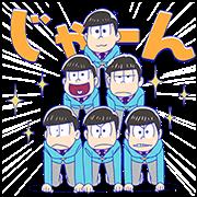 5764 - Mr.Osomatsu line貼圖