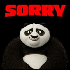 สติ๊กเกอร์ไลน์ Kung Fu Panda ขยับได้