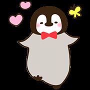 cute penguin動態貼圖