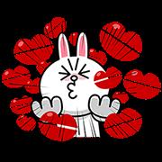 熊大&兔兔(整個螢幕都在戀愛篇☆)