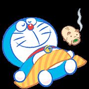 哆啦A夢 夏季動態貼圖