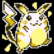 Pokémon有聲遊戲點陣貼圖