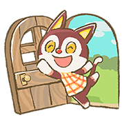 Animal Crossing 15週年貼圖