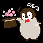 cute penguin全螢幕貼圖