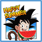 8942 DRAGON BALL's Summer Vacation line貼圖
