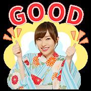 AKB48 神7!浴衣全螢幕貼圖
