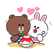 Brown & Cony in Love
