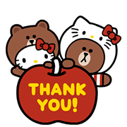 LINE FRIENDS & HELLO KITTY