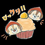 會動的!Disney Tsum Tsum(甜點篇)