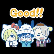 勇利!!!on ICE×三麗鷗可愛明星