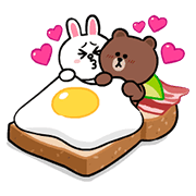 Q彈可愛的熊大&兔兔(迷你篇)