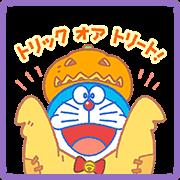 Doraemon's Autumn Stickers