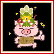 Butata's New Year's Gift Stickers