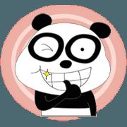 Sassy panda