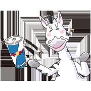 Cartoon animals from Red Bull TVCM 翼をさずけるCMアニマル大集合!