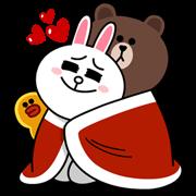 熊大&兔兔(冬日約會篇)