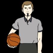 バスケ審判のハンドサイン・シグナル