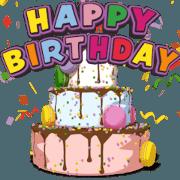 動いて楽しい誕生日