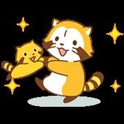 Happy☆ラスカル アニメスタンプ
