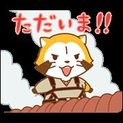 ラスカル×進撃の巨人 アニメスタンプ