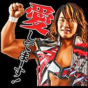 新日本プロレスリング しゃべるスタンプ